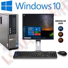 DELL Optiplex SFF veloce a buon mercato Desktop Core i5 8 GB 1 TB HDD desktop di Windows 10