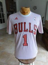 jersey nba adidas maillot basket ball NBA Chicago bulls  rose n°1  Taille S