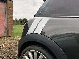 Mini Cooper / S Side Arch Car Stripes Vinyl Graphics Decal Stickers (any model)