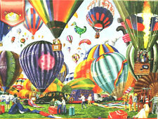 """Serendipity Puzzles 750 Pcs - """"FULL OF HOT AIR"""" Balloons - Gale Pitt / Complete"""