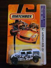 Matchbox MBX Metal Hummer H2 SUV Concept #75