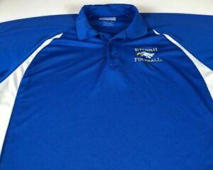 Etowah Eagles Football Polo Shirt Mens 2XL/3XL Dri-Fit Georgia High School Adult