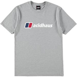 SRM Acidhaus Logo Tee Oxford Grey