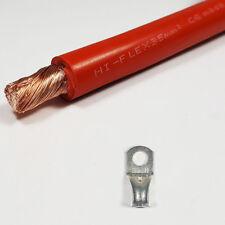 Batería 35 mm² rojo Cable de soldadura 240 A Amperios Pvc Flexible libre del estirón Por Metro