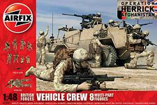 Airfix: British vehicle crew in 1:48 A03702 8 Soldiers Operation Herrick Set