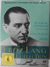 Fritz Lang Collection 6 DVD Sammlung Dr. Mabuse der Spieler, Frau im Mond, Spion