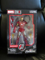 "Marvel Legends 6"" MCU Studios First Ten Years Iron Man Mark VII 7 Avengers New"