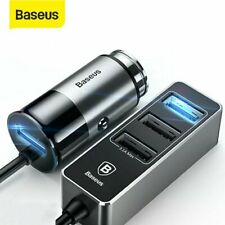 Baseus USB Car Charger 5.5A Fast Charging Adapter Splitter for iPhone Samsung LG