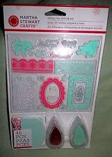 Martha Stewart Christmas stamp, tag and ink set