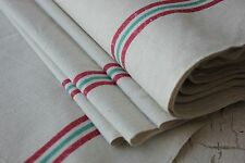 Vintage French unused Metis Christmas fabric ~ 1yd lengths ~ natural material ~