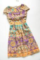 Waggon Paris Stunning chiffon fit & flare dress S / UK 8