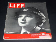 LIFE MAGAZINE JANUARY 26 TH 1942 THIS ABOVE ALL JOY FRANKAU