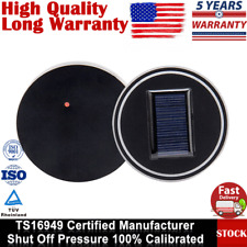 Waterproof 2 Pack Solar Power Cup Holder LED Light Bottom Pad Cover USB Charged