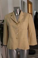 MAXMARA- Très jolie  veste manches 3/4 beige -  taille 40 - EXCELLENT ÉTAT