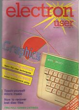 ELECTRON USER - VOL 3 NO 7 - APRIL 1986 - MAGAZINE