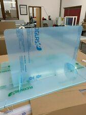 Trennwand Tischaufsteller Plexiglas Acryl Niesschutz Virenschutz Spritzschutz