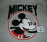 Disney Youth XL 15/17 Hoodie Mickey Mouse 1928 Gray Sweatshirt Full Zip EUC