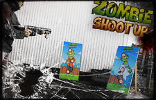 Zombie Shoot Up Nerf Guns and Targets Veteran Package