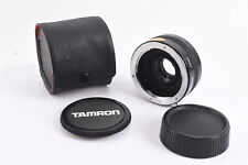 Tamron Teleconverter MC 2x for Contax Mount Cameras With Caps and Case V09