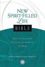 NIV New Spirit-Filled Life Bible : Kingdom Equipping Through the Power of the Wo
