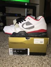 NIKE AIR TRAINER 2 SB SUPREME WHITE 317646 111 SIZE 9.5 WORN W BOX LOGO
