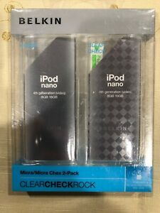 Belkin 2-Pack iPod Nano Micra Clear  / Micra Clear Chex Thin Cases