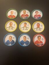 1962-63 Shirriff NHL Hockey Coin Complete Set of 60