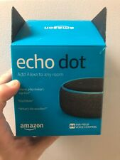Amazon Echo Dot (3rd Generation) Smart Speaker with Bluetooth. Black in Color