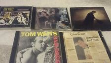 Tom waits 5 cds rain dogs small change  plus 3 others
