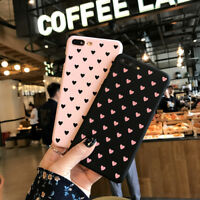 Cute Anti Shock Dust Love Heart Scrub Protect Cover Case For Iphone 6/7 S Plus