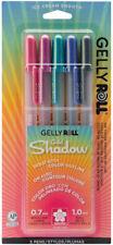 Sakura Gelly Roll Gold Shadow 5 Color Set Archival Quality Gel Ink 0.7mm Pen