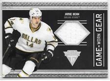 11/12 Titanium: Jamie Benn Game Worn Gear Jersey Card (#74) !