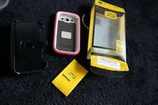 Otter Defender case Samsung Galaxy SIII pink white special edition info in pics