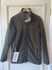 BNWT Schoffel Mens Mowbray Windstopper Fleece Jacket Dark Olive Size 38