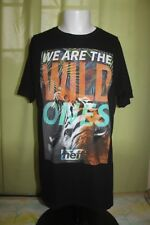 Neff We Are The Wild Ones Tiger Jungle Men's Black T Shirt Size Large