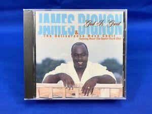 SEALED James Bignon & Deliverance Mass Choir – God is Great CD 2003 Gospel OOP