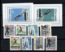 Albanien  Olympiade 1964 Innsbruck A+ B  postfrisch