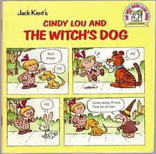 Vintage Children's Book CINDY LOU AND THE WITCH'S DOG Jack Kent
