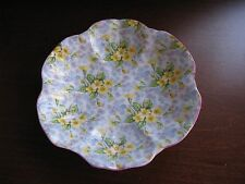 Shelley PRIMROSE CHINTZ FLUTED Nut/Cookie Dish   WILL GIFT WRAP/SEND