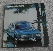 Saab 99 Brochure 1970