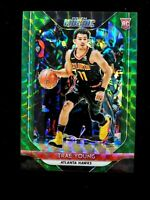 2018-19 Trae Young MOSAIC GREEN #93 Rookie RC Panini Prizm Refractor PRISTINE !!