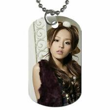 Asian Idol Aya Hirano necklace Hot Japanese dog tag