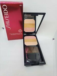 New in Box Shiseido Face Color Enhancing Trio RD1 .24 oz / 7 g