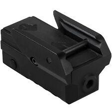 NcSTAR VAPRLSMCG Compact Adjustable Rifle Pistol Green Laser w/Strobe Mode