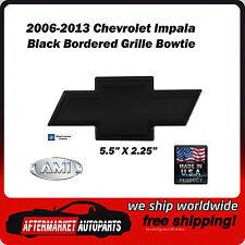 2006-2013 Chevrolet Impala Black Powder Coat Bowtie Grille Emblem AMI 96024K