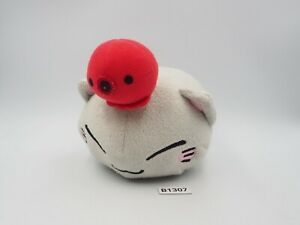 "Nemuneko B1307 Grey Cat Furyu 5"" Plush Stuffed Toy Doll Japan"