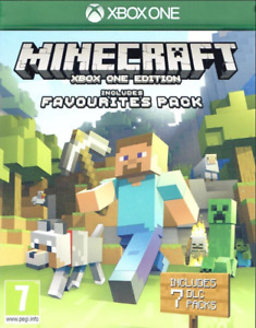 Minecraft Microsoft Xbox One Edition Inc Favourites Pack : Video Game FAST POST