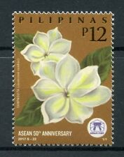 Philippines 2017 MNH ASEAN 50th Anniv Flowers Arabian Jasmine 1v Set Stamps