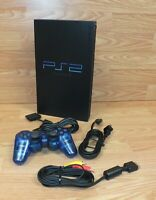 Genuine Sony (SCPH-30001 R) PlayStation 2 PS2 Console Gaming System + Remote