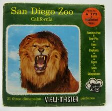 View-Master A173, San Diego Zoo, CA, S4 Packet, 3 Reel Set